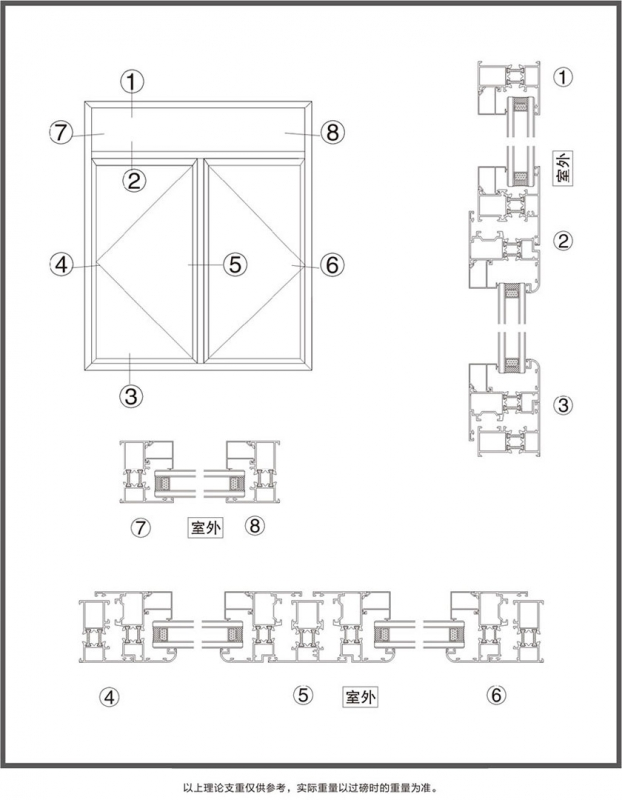 武汉ZQ-GL55断桥隔热系列